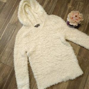 BOGO Fuzzy Hooded Sweatshirt